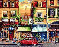 Игра Картины по номерам (MR-Q2072) Улочки Парижа