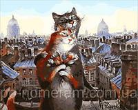 Игра Картины по номерам (MR-Q2075) Коты романтики