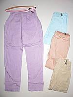 Детские летние брюки для девочки на 3 - 8 лет