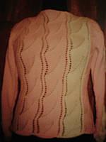 Женский вязанный свитер 44-46 р-р