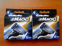 Сменные лезвия Gillette Mach 3 8 шт