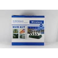 Комплект видеонаблюдения с беспроводными камерами DVR KIT 6004