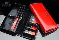 New 2017 ! Женский кошелек премиум-класса бренд Pierre Cardin Франция кожа (красный)
