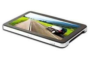 Ультратонкий 7-дюймовый автомобильный GPS навигатор