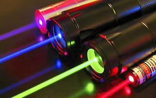 Лазерные указки, лазеры