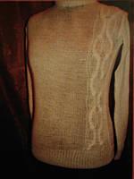Женский вязанный свитер 48-50 р-р