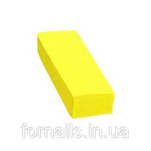 Полоски для депиляции желтые, 100 шт, Doily