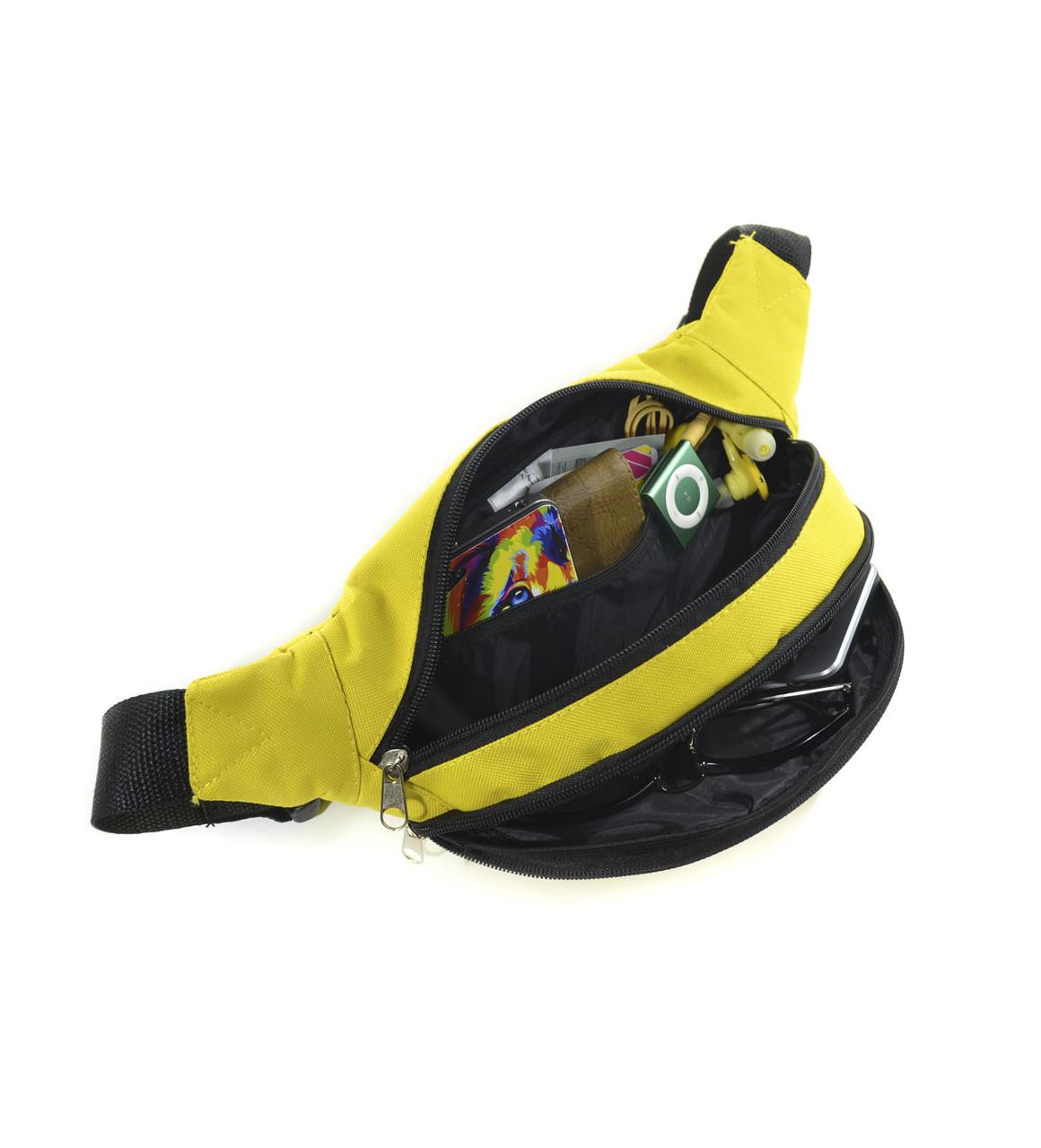 d2ee081d0a8b Поясная сумка бананка желтая Banan Surikat (сумка на пояс, сумки, сумк 2 ...