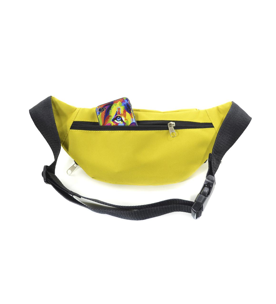 83990eca8322 ... Поясная сумка бананка желтая Banan Surikat (сумка на пояс, сумки, сумк  3 ...