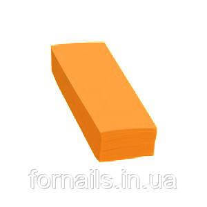 Полоски для депиляции оранжевые, 100 шт, Doily