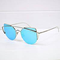 Очки женские от солнца Gentle Monster NEW голубые, магазин очков