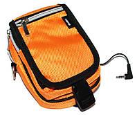 Колонки 1.0 Sven Kangoo-2 Yellow / портативная колонка в защитной сумочке / 2хАА / кабель mini-jack 3.5, 2W