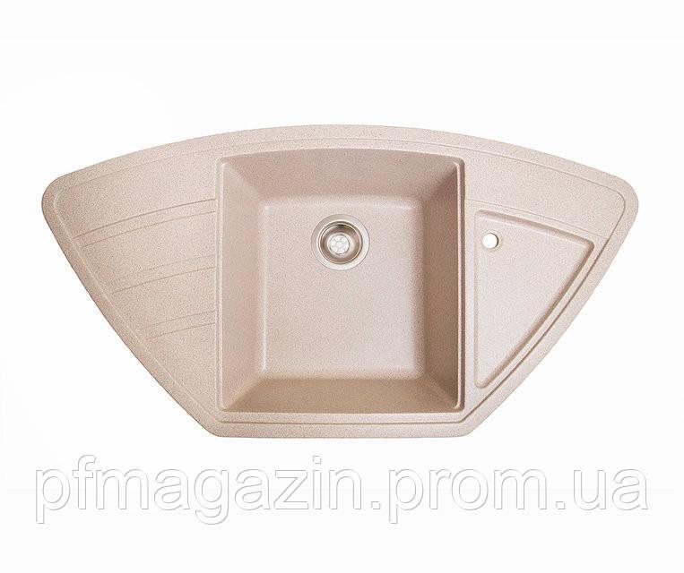 Мойка кухонная Solid Крафт, розовый (ДхШхГ-980х510х200)