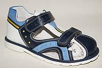 Подростковые сандалии для мальчиков от производителя Tom.M 0152H (8пар, 32-37)