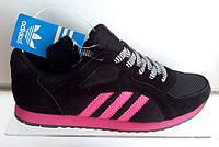 Женские кроссовки Adidas черные