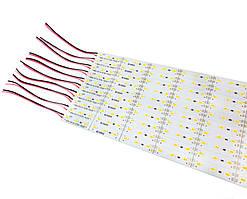 Светодиодная линейка Biom SMD5630 20W 12V 6500К (скотч и отверстия)