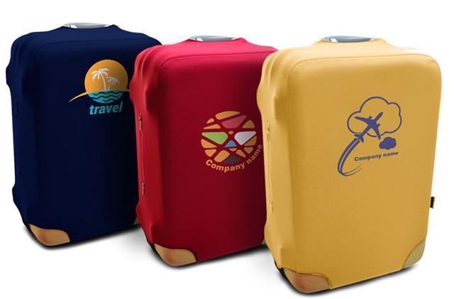 Текстильные чехлы для чемоданов из неопрена