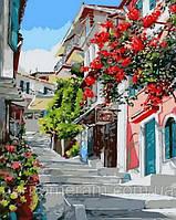 Игра Картины по номерам (MR-Q1130) Цветочная улица