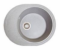 Мойка кухонная Комфи, цвет - серый (ДхШхГ-580х470х200)