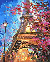Игра Картины по номерам (KH2129) Краски весеннего Парижа 40х50 см