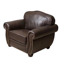 Кресло кожаное мод. Mervin
