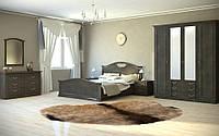 Спальня Агнес два вида шкаф 6Д и 4Д, прикроватные тумбы, комод, зеркало, туалетный столик, кровать 2С
