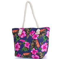 Женская пляжная тканевая сумка eterno dct-304-1-02 с ручками