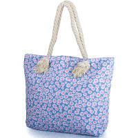 Женская пляжная тканевая сумка eterno dca-241-02 с ручками