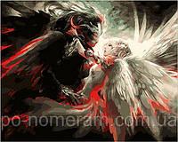 Игра Картины по номерам (MR-Q223) Ангел и Демон