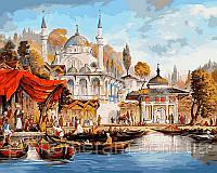 Игра Картины по номерам (VP486) Стамбул. Мечеть  Ускюдар (40х50)
