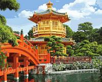 Игра Картины по номерам (VP647) Японская пагода (40х50 см)
