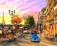 Игра Картины по номерам (VP644) Улочки Парижа (40х50 см)