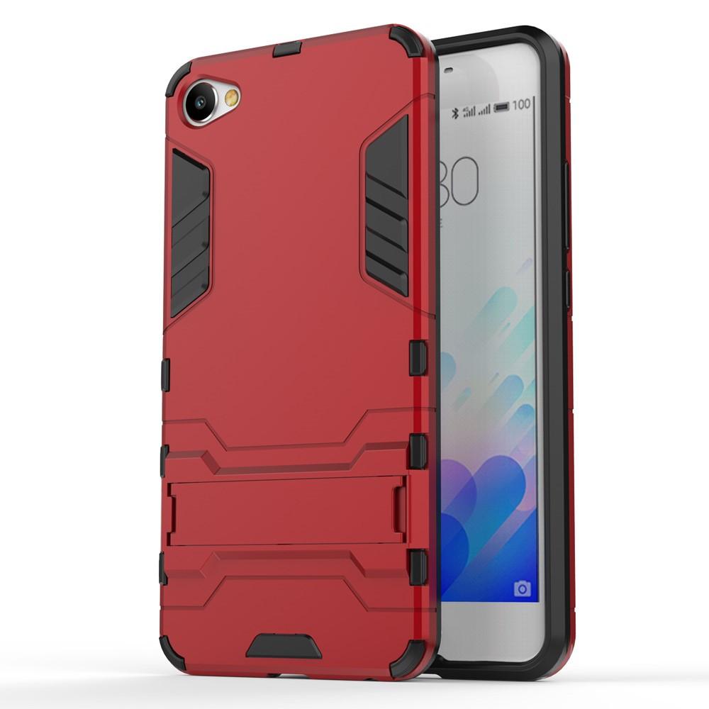 Чехол накладка силиконовый Armor Shield для Meizu M3x красный