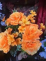 Шикарные розы Штучні квіти Искусственные букеты , фото 1
