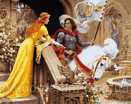 Игра Картины по номерам (VP680) Ланселот и Гвиневера (40х50 см)