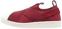 Женские кроссовки Adidas Superstar Slip-On Red