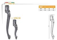 Ножка меблева фігурна букова DV Art. 1200/38