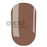 Гель лак Oxxi № 186 (серо-коричневый эмаль)