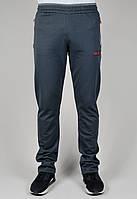 Спортивные брюки мужские Nike 3316 Тёмно-серые