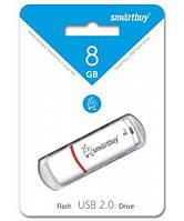 Флешка Smartbuy USB 8Gb Crown White