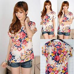 Модная блузка Цветочки