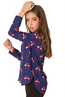 Стильная детская блуза для девочки
