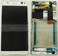 Дисплейный модуль Sony Xperia C5 Ultra Dual E5533/ E5553 (White), A/8CS-58880-0002 оригинал