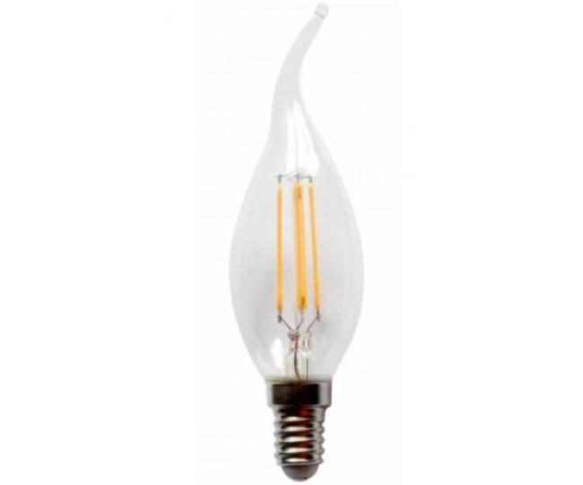 Светодиодная лампа Lemanso 4W C35T E14 420LM 4500K  нейтральный
