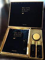 Набор косметики с черной улиткой и жемчугом Holika Holika Black Snail Repair 31+31+18мл+гидрогелевая маска, фото 1