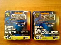 Сменные кассеты Gillette Fusion Proglide (8)