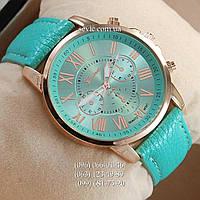 Женские наручные часы Geneva Gold/Azure