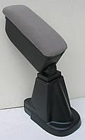 Подлокотник Toyota Yaris 3 2012+ Botec серый текстильный