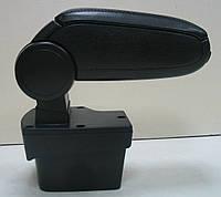 Подлокотник Kia Rio (K2) 2012+ ASP черный виниловый
