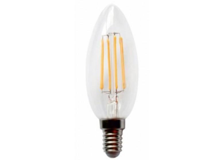 Светодиодная лампа Lemanso 4W C35 E14 4W 420LM 4500K
